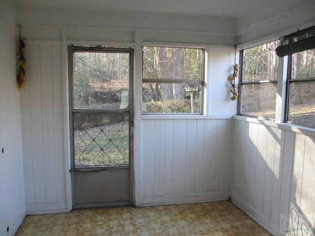 Enclosed Back Porch - Not Heated